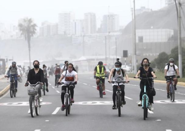 Costa Verde restringe la circulación vehicular todos los domingos de diciembre