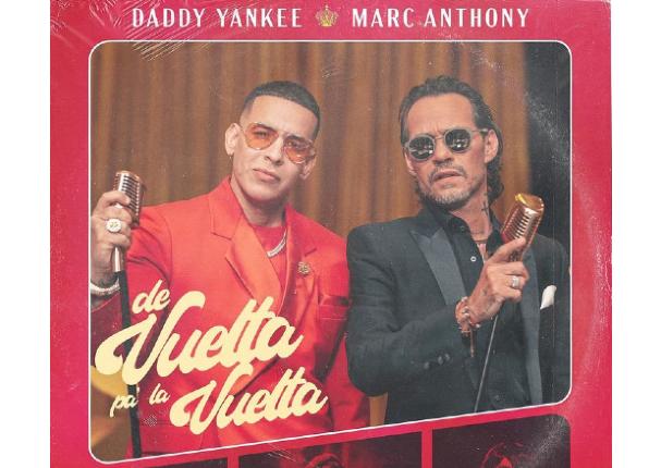Marc Anthony junto a Daddy Yankee en nuevo tema musical