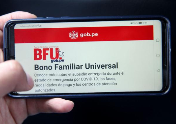 Segundo Bono Familiar Universal por Banca Celular