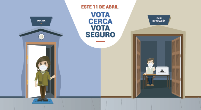 ONPE: Te permite elegir tu local de votación más cercano para el 11 de abril
