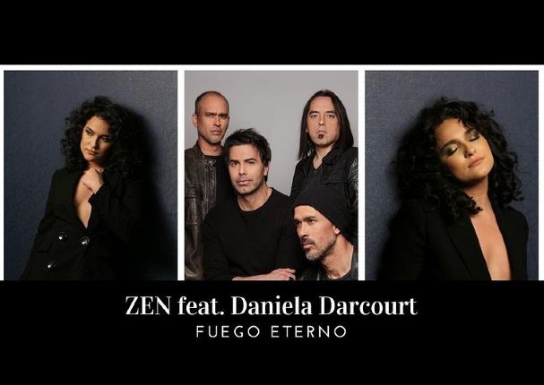 Daniela Darcourt debuta en el rock junto a Zen en colaboración musical