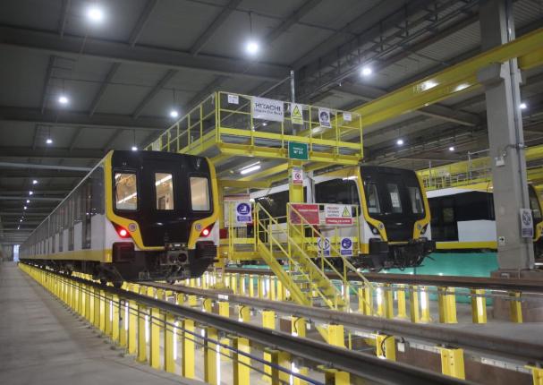 MTC: Línea 2 del Metro concluirá en julio con la primera etapa