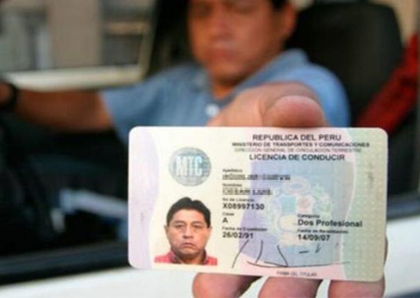 Perú: Conductores podrán llevar su brevete electrónico en el celular