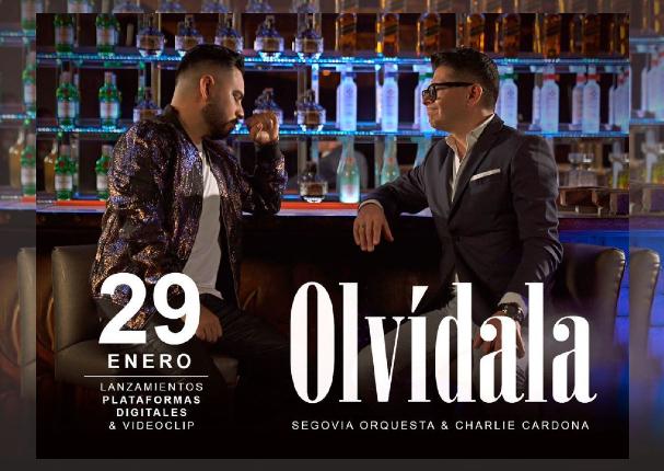 Charlie Cardona se une a la Orquesta Segovia para lanzar 'Olvídala', el clásico del Binomio De Oro De América | VIDEO