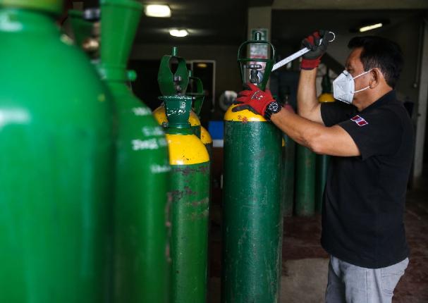 """Callao: """"Ángel del Oxígeno"""" dejó de operar por amenazas y robo de balón"""