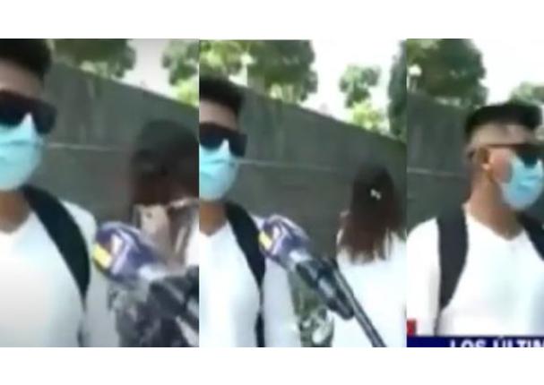 TV Perú: Joven es captado con otra chica y envía mensaje a su enamorada | VIDEO
