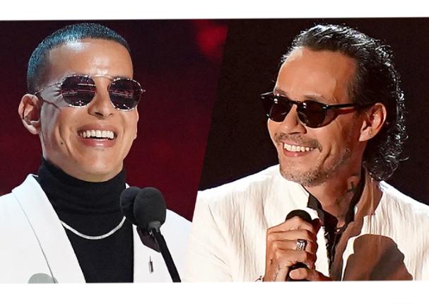 Marc Anthony y Daddy Yankee estarán juntos en 'Premio Lo Nuestro'