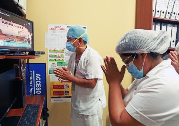 Llegó al Perú el primer lote de 300 mil vacunas de Sinopharm contra la Covid-19