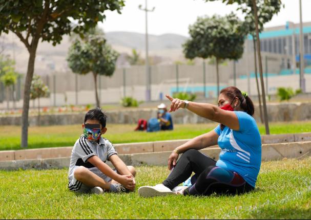 EsSalud informó que los parques son focos de contagios