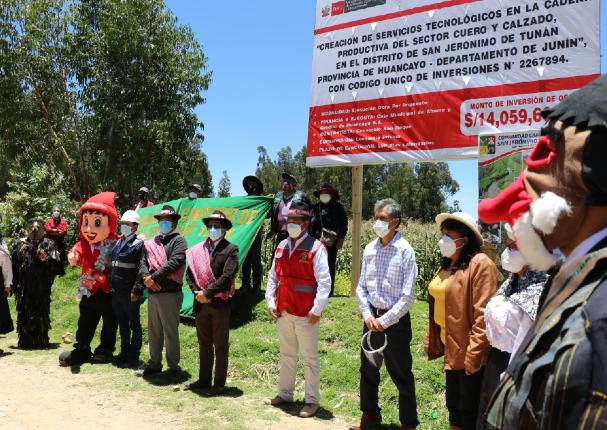 Caja Huancayo recibe terreno para construcción del CITECCAL  Junín