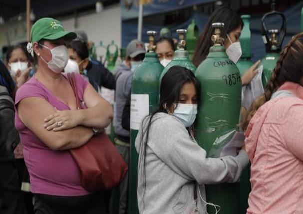 Lima: Nueva planta de oxígeno recarga balones gratis en Puente Piedra