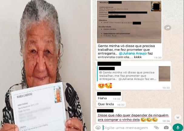 Brasil: Mujer de 101 años envía su CV y desea conseguir empleo