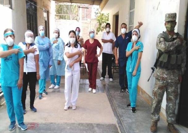 Lambayeque cerca de vacunar el 100% de su personal en primera línea contra la Covid-19