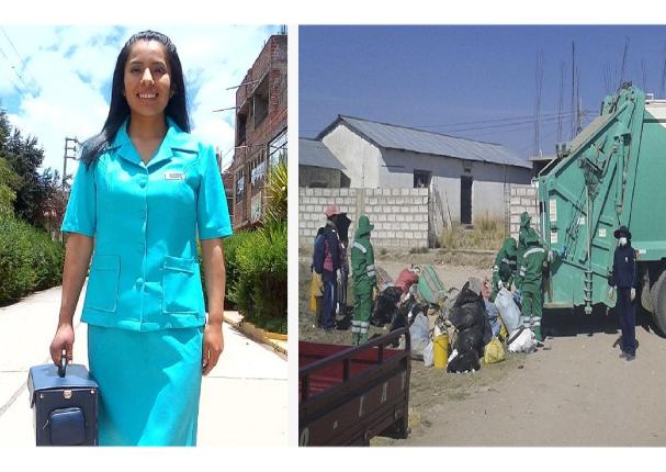 Puno: Estudiante de enfermería logró erradicar la basura en su comunidad