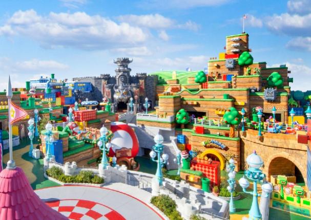 Abre sus puertas el primer parque temático de Nintendo | VIDEO