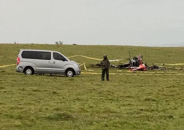 Uruguay: Helicóptero que trasladaba vacunas contra la Covid-19 sufre accidente