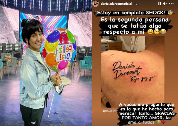 Fanático de Daniela Darcourt se tatúa el nombre de la salsera | FOTOS