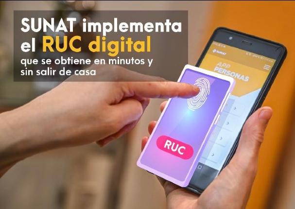 SUNAT: obtén tu RUC Digital para empezar a trabajar o iniciar un emprendimiento
