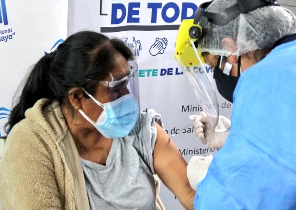 Perú Covid-19: Más de un millón 761 mil personas han sido inmunizadas