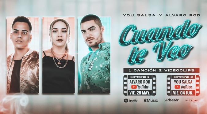 You Salsa y Alvaro Rod estrenarán nuevo tema con 2 videoclips