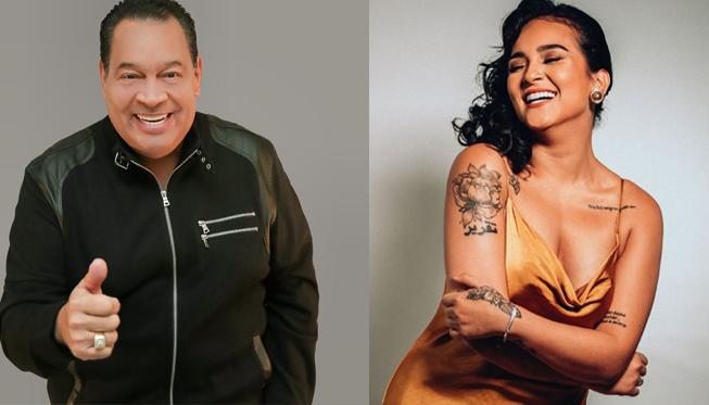 """Tito Nieves a Daniela Darcourt por su nuevo estreno: """"Todos los éxitos mi niña"""""""
