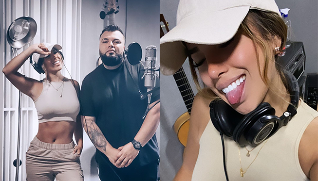 Yahaira Plasencia llegó a Colombia para grabar su cuarto tema
