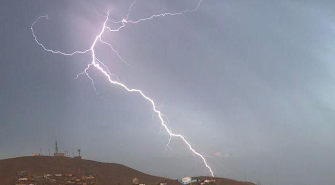 Lima amaneció con truenos, rayos y relámpagos | VIDEO
