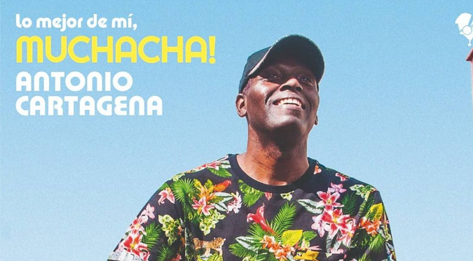 """Antonio Cartagena lanza su disco """"Lo Mejor de Mí"""" en plataformas digitales"""