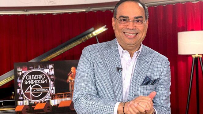 Gilberto Santa Rosa ofrecerá concierto en Coliseo de Puerto Rico