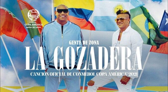 Gente de Zona y Conmebol presentaron canción de la Copa América 2021