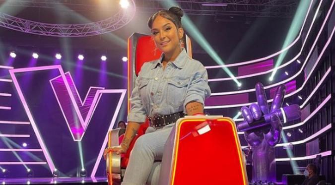 Daniela Darcourt brilló en el estreno de La Voz Perú