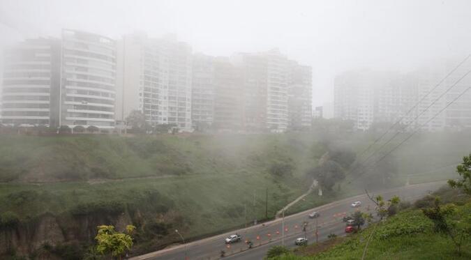 Senamhi advierte por bajas temperaturas y fuertes lloviznas