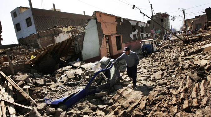 Fuerte sismo en Cañete fue comparado con terremoto del 2007