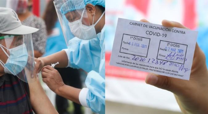 COVID-19: ¿Qué hacer si perdí mi carné de vacunación?