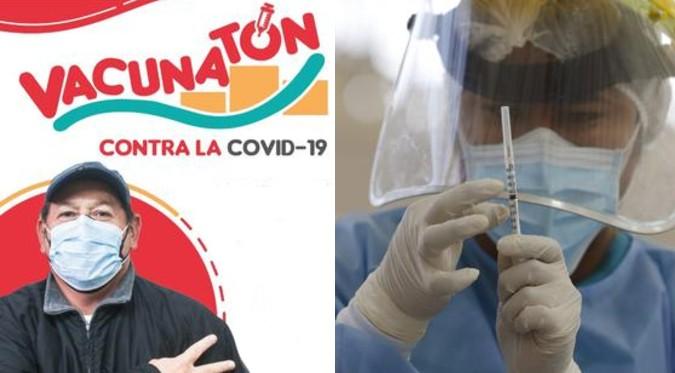 """COVID-19: Conoce cuando inicia la """"Vacunatón"""" para Lima Metropolitana y Callao"""