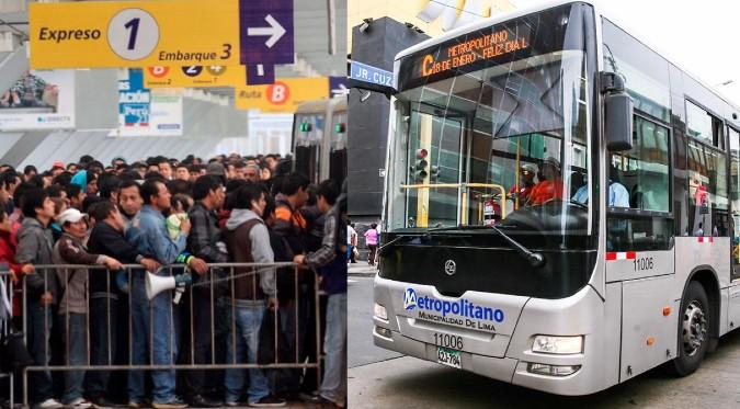 Metropolitano: conoce el nuevo horario de los buses troncales y alimentadores