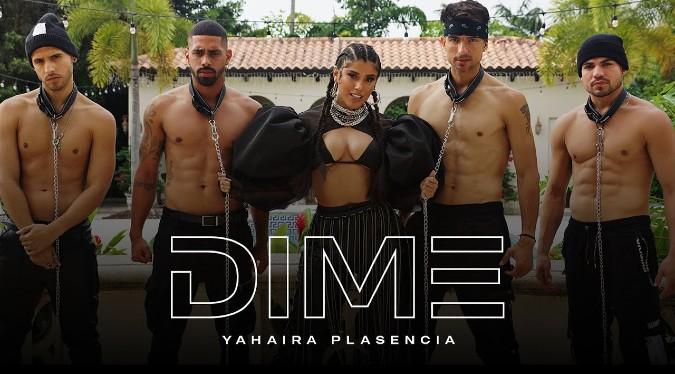 "Yahaira Plasencia estrena su nuevo tema musical ""Dime"""