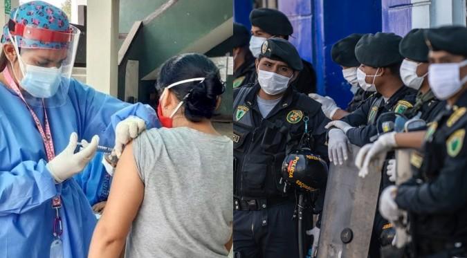 COVID-19: requisitoriados vacunados serán capturados en los próximos días