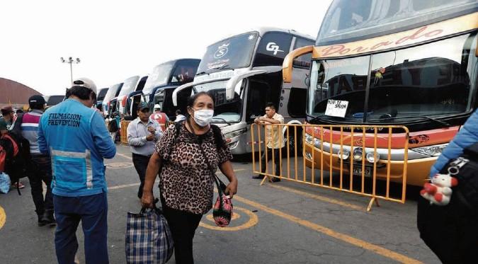 COVID-19: conoce las restricciones para los viajes interprovinciales en Fiestas Patrias