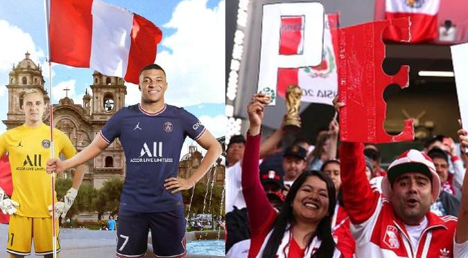 Fiestas Patrias: Paris Saint-Germain saludó al Perú por su aniversario | FOTO