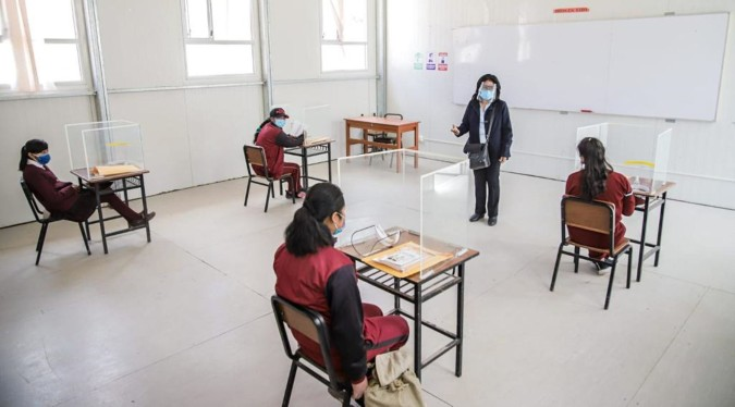 Minedu: colegios inician clases presenciales la próxima semana