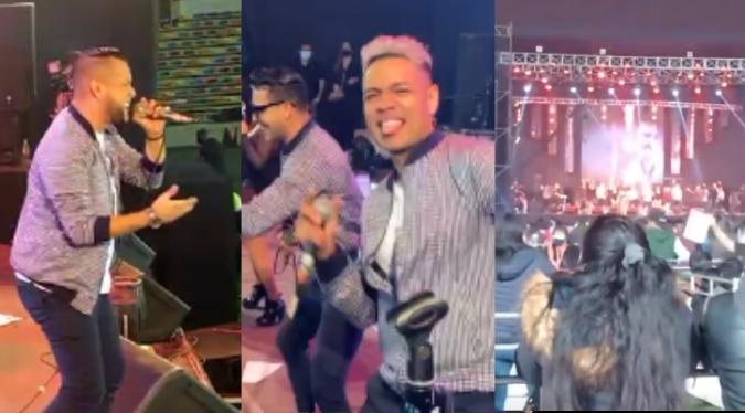 Combinación de la Habana realizó concierto con público en Ate   VIDEO