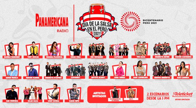 """""""Día de la Salsa en el Perú"""": concierto será presencial y reunirá a los mejores artistas salseros del momento"""