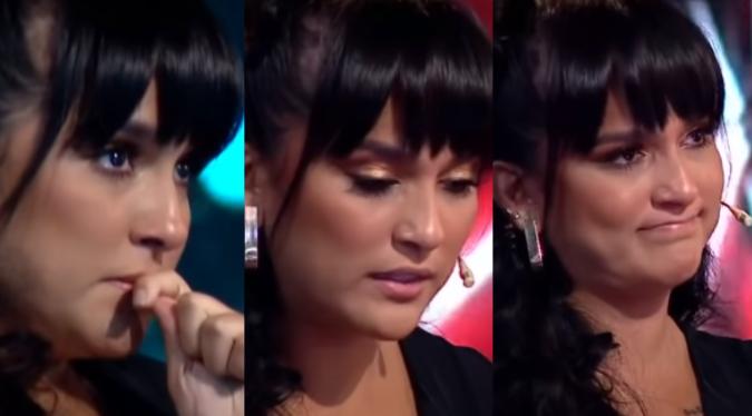 """Daniela Darcourt llora tras presentación de cantante en """"La Voz Perú""""   VIDEO"""