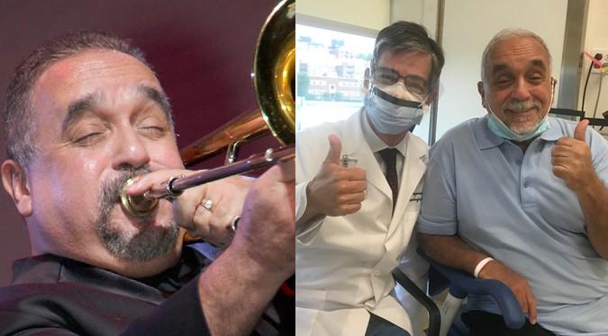 "Willie Colón: ""Tengo esperanzas de poder regresar pronto""   FOTOS"