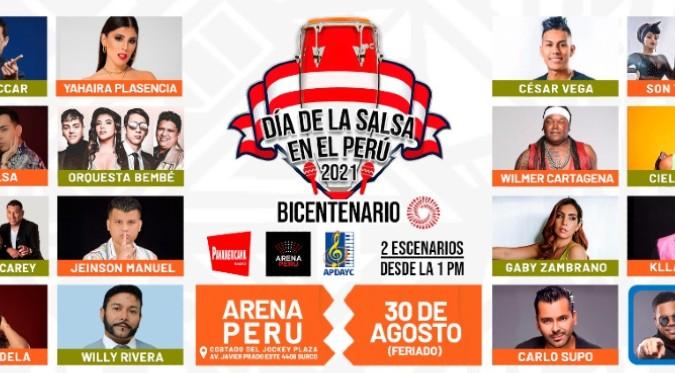 Día de la salsa en el Perú 2021: Agrupaciones y artistas salseros darán concierto hoy en el Jockey Plaza