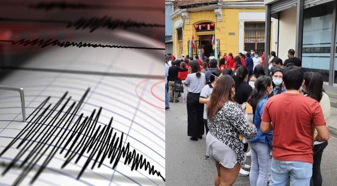 El Perú sigue temblando: fuerte sismo sacudió el departamento de Ica esta mañana