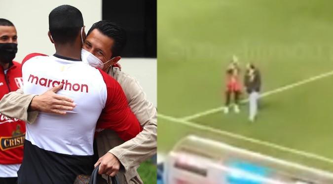 Perú vs. Uruguay: Lapadula se despide de los hinchas peruanos | VIDEO