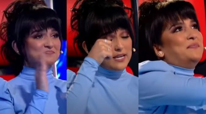 "Daniela Darcourt rompe en llanto en ""La Voz Senior""   VIDEO"