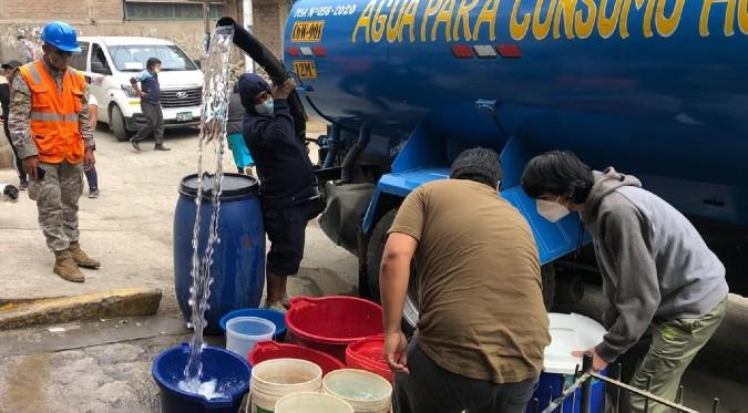 Corte de agua: distritos de Lima no tendrán agua potable en los próximos días | FOTOS